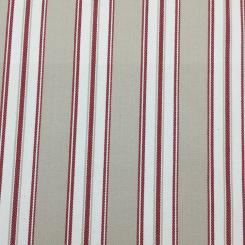 1 3/4 Yards Stripe  Woven  Fabric