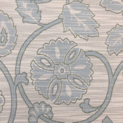 3 Yards Floral Medallion  Woven  Fabric