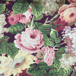 1 3/4 Yards Floral  Print  Fabric