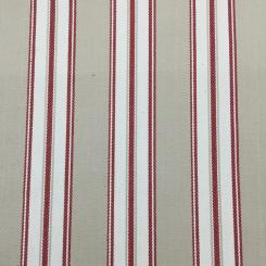 1 1/2 Yards Stripe  Woven  Fabric