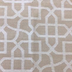 4 Yards Geometric  Woven  Fabric