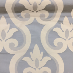 3 3/4 Yards Damask Traditional  Satin Woven  Fabric