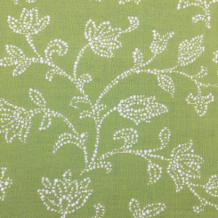 2 Yards Floral  Woven  Fabric