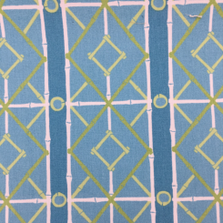 6 Yards Diamond Geometric  Print  Fabric