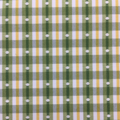 7 Yards Geometric Plaid/Check  Embroidered Woven  Fabric