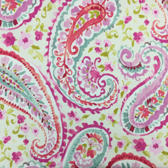 4 3/4 Yards Floral Paisley  Print  Fabric