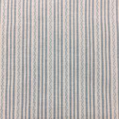 6 Yards Stripe  Woven  Fabric
