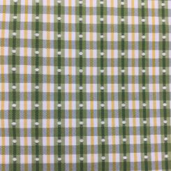 6 Yards Plaid/Check Polka Dots  Woven  Fabric