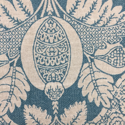 6 Yards Damask Floral  Print  Fabric