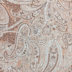 5 1/4 Yards Paisley  Print  Fabric