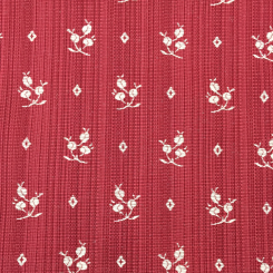 5 1/4 Yards Floral Stripe  Woven  Fabric
