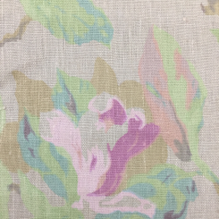 5 1/4 Yards Floral  Print  Fabric