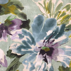 6 3/4 Yards Floral  Canvas/Twill  Fabric