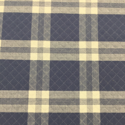 4 1/2 Yards Plaid/Check  Woven  Fabric