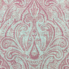 4 Yards Damask  Print  Fabric