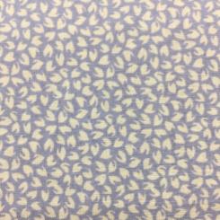 6 1/4 Yards Floral Polka Dots  Print  Fabric