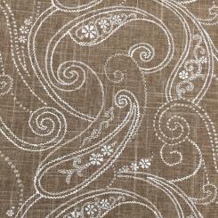 4 1/2 Yards Paisley  Print  Fabric