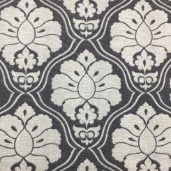 5 3/4 Yards Diamond Floral  Print  Fabric