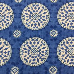 4 1/4 Yards Medallion  Print  Fabric