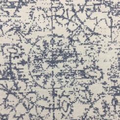 2 1/2 Yards Medallion  Woven  Fabric