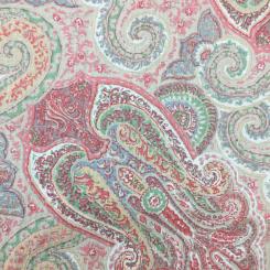 1 3/4 Yards Paisley  Print  Fabric