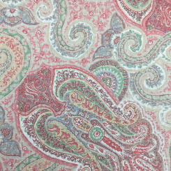 2 1/4 Yards Paisley  Print  Fabric