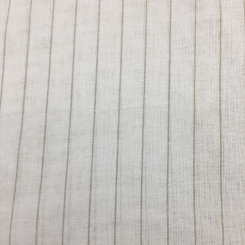 2 3/4 Yards Stripe Traditional  Sheer  Fabric
