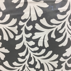 6 1/2 Yards Damask  Sheer  Fabric