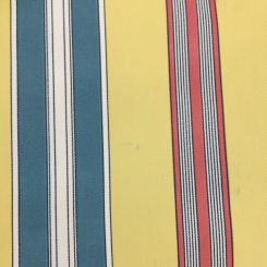 9 Yards Stripe Traditional  Print  Fabric
