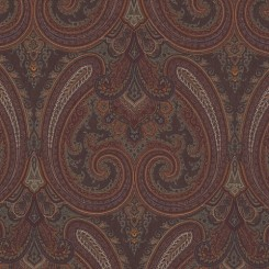 RL Galsworthy Paisley Cognac (A)