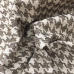 15 Yards Houndstooth  Woven  Fabric