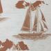 15 1/2 Yards Nautical Novelty  Woven  Fabric