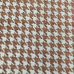 20 Yards Houndstooth  Woven  Fabric