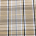 6 1/2 Yards Plaid/Check  Woven  Fabric