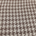 2 Yards Plaid/Check  Basket Weave Chenille  Fabric
