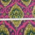10 1/2 Yards Damask Geometric  Basket Weave Print  Fabric
