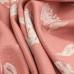 12 Yards Floral  Basket Weave Print  Fabric