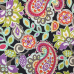1 Yard Paisley  Print  Fabric