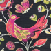 1 Yard Animal Floral  Woven  Fabric