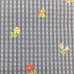 2 Yards Floral Plaid/Check  Embroidered Woven  Fabric