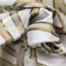 4 Yards Geometric  Woven  Fabric
