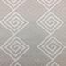1 1/2 Yards Diamond Geometric  Embroidered  Fabric