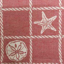 4 Yards Nautical Plaid/Check  Woven  Fabric
