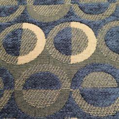 5 1/2 Yards Geometric  Chenille Textured  Fabric