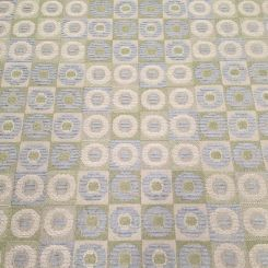 2 1/2 Yards Geometric Plaid/Check  Textured  Fabric