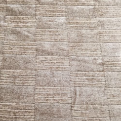4 Yards Plaid/Check Solid  Chenille Textured  Fabric