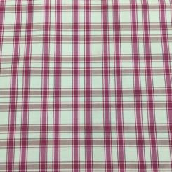 4 1/2 Yards Plaid/Check  Satin  Fabric