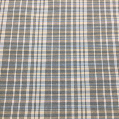 12 Yards Plaid/Check  Woven  Fabric