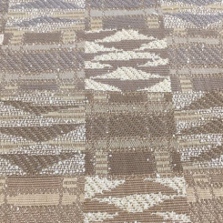 9 1/2 Yards Abstract Geometric  Woven  Fabric