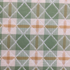 10 Yards Diamond Plaid/Check  Woven  Fabric